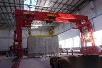 河南新乡出售100吨跨度16米升高8.7米,电动双梁葫芦龙门一台