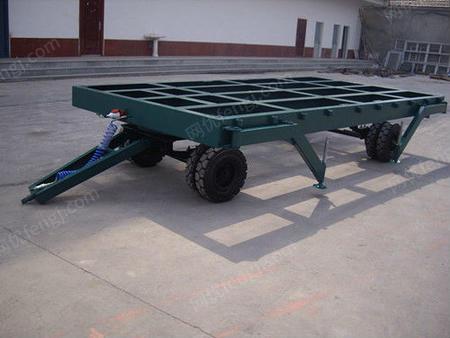 供应山东济南巨力液压机械平板拖车