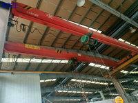 上海宝山区出售4台5吨跨度22.5米二手单梁行车电议或面议