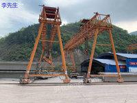 上海宝山区出售1台二手80吨提梁机跨度26米