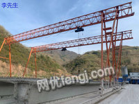 上海宝山区出售二手10吨提梁机跨度26米