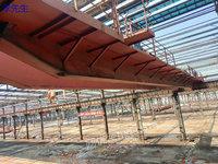 上海宝山区出售1台二手QD型16/5吨双梁桥式起重机跨度28.5米