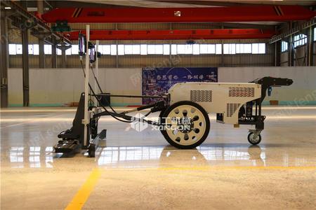 供应翔工机械手扶式两轮路面混凝土激光整平机