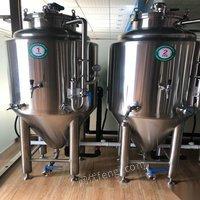 广东东莞啤酒设备8个250升发酵罐 150000元出售