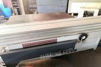 上海宝山区转让8-9成二手木工机械精密裁板锯导向锯容安45度推台锯