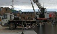 青海西宁转让浦沅16吨吊车