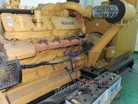 深圳厂家供应二手发电机出售原装进口卡特彼勒柴油发电机组转让3406回收