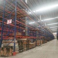 广东东莞低价按吨出售600组二手重型货架 二手重型1吨货架