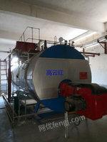江苏出售二手无锡太湖产WNS6-1.6-Y.Q燃气蒸汽锅炉一套