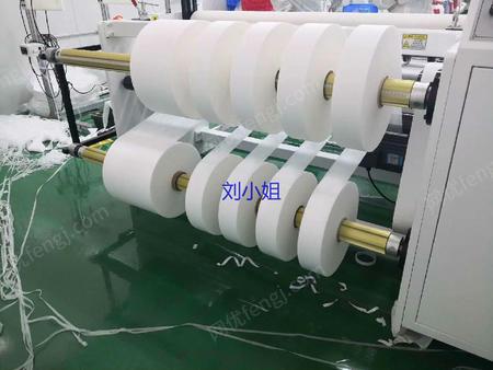 供应东莞常平佳源熔喷布分条机批发 加宽熔喷无纺布分切机 高速多刀熔喷布分条机
