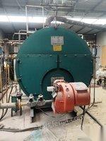 天津濱海新區低價出售1噸,2噸燃氣蒸汽鍋爐,配件齊全