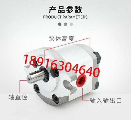 供应台湾新鸿HGP-3A-F6齿轮泵