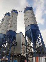 山東德州出售八個100噸的水泥罐,出售回收二手攪拌站