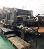 云南昆明低价出售二手:海德堡102四色印刷机和小森440四色印刷机