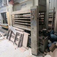 重庆沙坪坝区5层电加热热压机出售 50000元