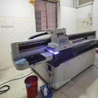 广东东莞转让二手2513uv平板打印机2030理光uv平板打印机 15000元