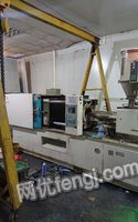 广东深圳因订单洋行撤单出售工厂活机力劲160吨伺服注塑机一台。 68800元