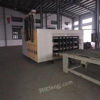 黑龙江哈尔滨出售二手印刷机 扪盒机 薄机 开槽机等纸箱厂设备