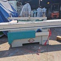 广东东莞木工精密裁板锯 推台锯 出售二手木工机械设备 11500元
