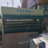 天津北辰区二手木工机械二手热压机二手四压三热压机出售