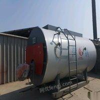 甘肅蘭州處理兩噸燃氣蒸汽鍋爐一套九成新 75000元