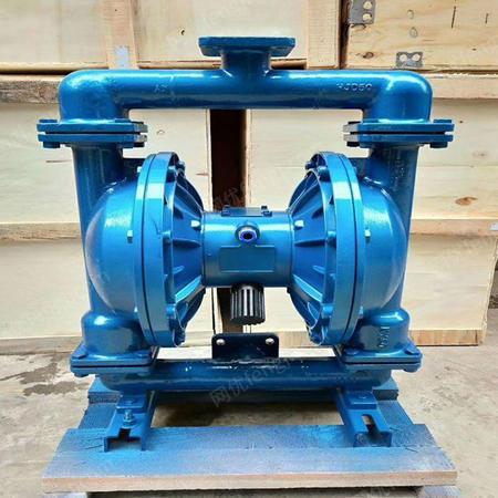 供应矿用BQG350/0.2气动隔膜泵型号- 350额定流量气动隔膜泵 BQG气动隔