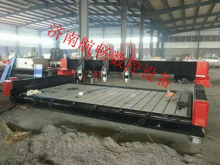 供应济南【航畅】立体平面一体重型石材雕刻机上门培训性能可靠