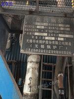 出售2010年無錫產二手150噸燃煤蒸汽鍋爐