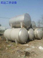 市场现货现货二手10吨不锈钢储罐,二手1500不锈钢干燥机