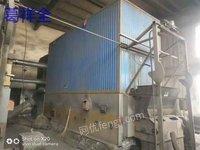 6噸導熱油燃煤爐及導熱油管道打包出售