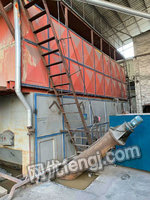出售二手15噸燃煤蒸汽煤爐,12年江蘇太湖產