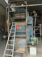 出售二手2噸鏈條生物質鍋爐,14年無錫中正產