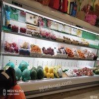 重庆合川区八成新生鲜风幕柜,风幕柜,保鲜柜出售
