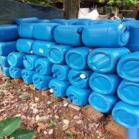 廣西崇左八九成新50斤塑料桶80個15元/個出售