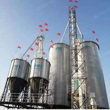 供应饲料厂粮贸公司常用粮食钢板仓