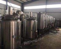 二手精酿啤酒设备  青岛精酿啤酒工艺培训 出售100000元