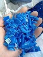 大量收購大小藍桶粉碎料