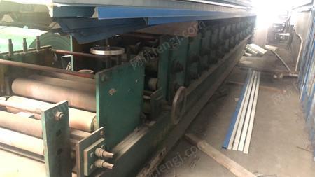 彩鋼廠處理張家港泉龍C型鋼機,有圖片