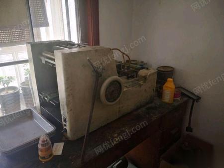 陜西西安營業中的名片制作全套設備 15000元低價打包出售