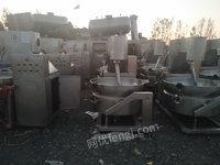 长期收购二手清洗机,二手风干机,食品厂加工生产设备