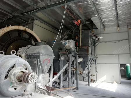廠處理2.1X2.1米球磨機4臺,7米Ⅹ1.83米的大磨機(風級機一整套)