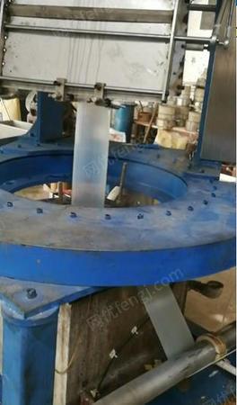 熱收縮廠出售上海吹800 65螺桿熱收縮膜機1臺,有圖片
