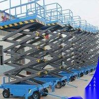 哈尔滨库房仓储设备登车桥升降机叉车升降电梯出售