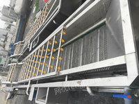 全国回收二手水果蔬菜清洗机、全不锈钢喷淋清洗机 风干机 气泡机