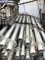 专业回收工地处理的工字钢、角钢、槽钢、脚手架等废料