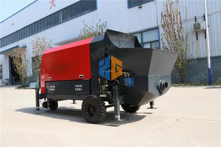 供应吉林省30千瓦小型大骨料混凝土输送泵
