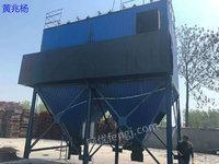 出售二手10噸生物質鍋爐水膜除塵器+布袋除塵器