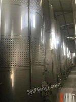 山东济宁高价求购二手发酵罐生物质发酵罐果酒发酵罐奶发酵罐等发酵设备