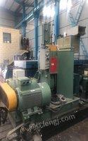 浙江杭州出售99%成新大连55升密炼机硬齿面减速机。就在厂家试了一次 235968元