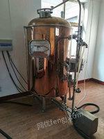 山东济南出售啤酒罐一套九成新,500L 1拖6